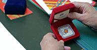 Новая коллекционная монета Всемирные игры кочевников. Архивное фото