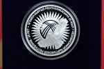Эгемен Кыргыз Республикасына 25 жыл коллекциялык күмүш монетасы
