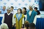 Дүйнөлүк көчмөндөр оюндарынын ачылыш аземине кыргыз спортчулары улуттук кийими