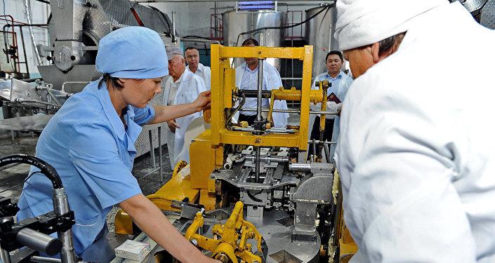 Завод по производству молочной продукции ОАО Ак-Сут