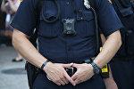 АКШ полиция кызматкери. Архив
