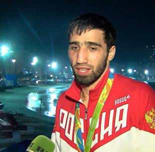 Очень счастлив – дзюдоист Халмурзаев поделился эмоциями от победы на ОИ-2016