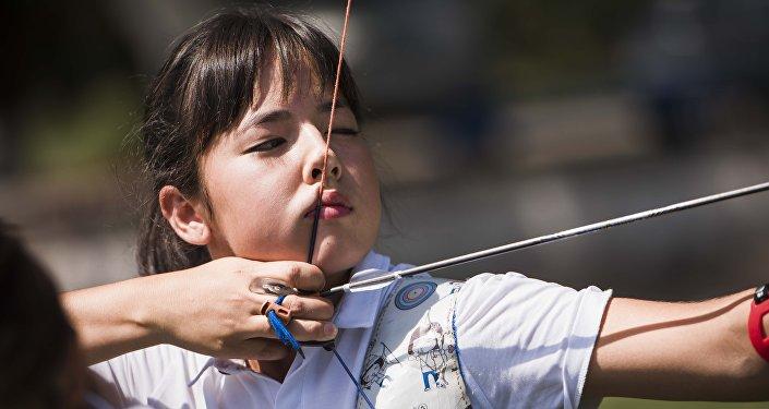 Финал чемпионата Кыргызстана по спортивной стрельбе из лука