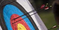 Финал соревнований Чемпионата Кыргызстана по спортивной стрельбе из лука