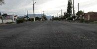 Отрезок отремонтированной трассы Балыкчи — Корумду