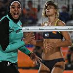 Египет менен Германиянын волейболчулары