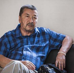 Режиссёр, сценарист и заслуженный деятель искусств Кыргызской ССР Геннадий Базаров.