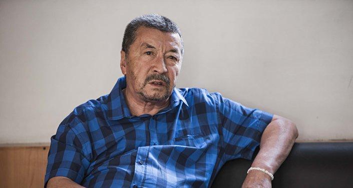 Режиссер, сценарист и заслуженный деятель искусств Кыргызской ССР Геннадий Базаров. Архивное фото