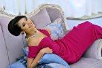 Top Model Of The World эл аралык сулуулар конкурсунун катышуучусу кыргызстандык Бегимай Карыбекова. Архив