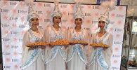 Бишкекте биринчи дүйнөлүк Кыргызстан жаштар курултайынын ачылышы