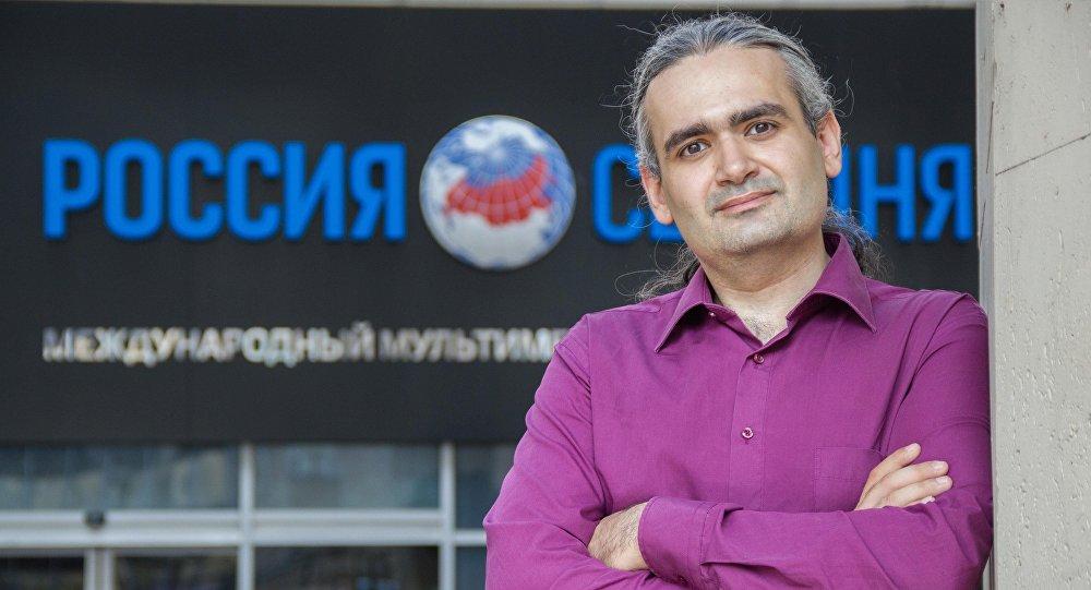 Научный сотрудник Института США и Канады Российская академия наук Геворг Мирзаян. Архивное фото