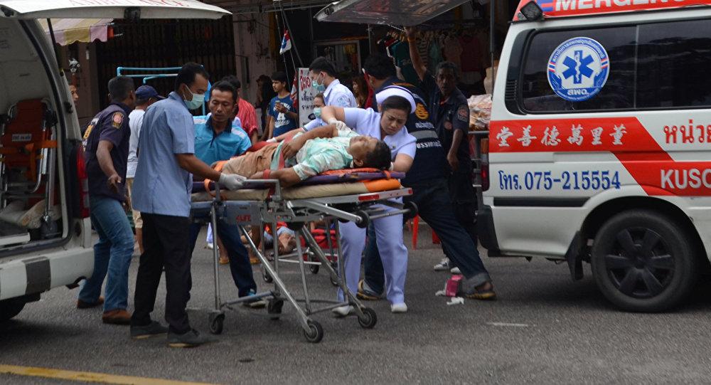 Накурорте Хуахин вТаиланде прогремели два взрыва