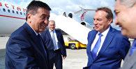 Премьера Жээнбекова в солнечном Сочи встретил мэр города