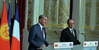 Атамбаев менен Оланд кыргыз-француз мамилесинин жаңы этабы башталганын билдиришти