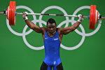 Рио Олимпиадасында жетинчи орунду алган франциялык оор атлетчи Бернардин Кингу Матам