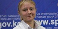 Архивное фото кыргызстанской бегуньи Дарьи Масловой