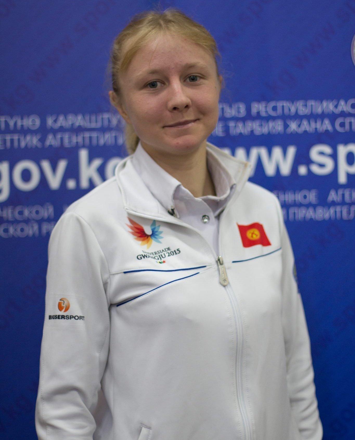 Участник Олимпиады-2016, кыргызстанская бегунья Дарья Маслова. Архивное фото