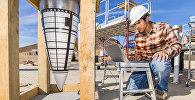 Тестовое испытание макета бомбы B61-12 в штате Нью-Мексико, США. Архивное фото