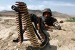 Афганистандагы куралчан жоокер. Архив