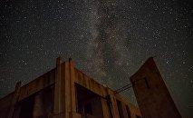 Вид на звездопад. Архивное фото