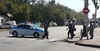 Захват заложников в здании ломбарда в Астане
