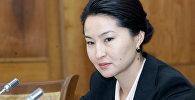 Архивное фото генерального прокурора Кыргызстана Индиры Джолдубаевой