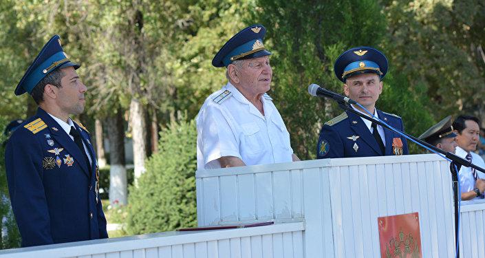Летчики авиабазы ОДКБ Кант отметили День Военно-воздушных сил России
