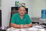 Бишкектеги травматология жана ортопедия борборунун директору Сабырбек Жумабековдун архивдик сүрөтү