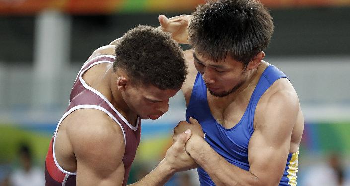 Кыргызстандык спортчу Арсен Эралиев Риодогу Олимпиадада биринчи эле беттешинде утулуп калды