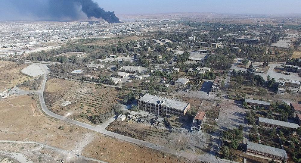 Боевики обстреляли центр Алеппо изминометов, погибли как минимум 10 человек