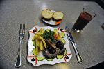 Блюдо в ресторане. Архивное фото