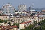 Вид на город Волгоград. Архивное фото