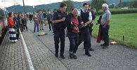 Нападение на поезд в Австрии: задержание преступника и помощь раненым