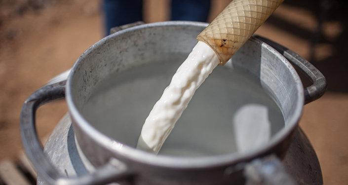 Молоко. Архивное фото