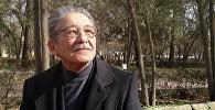 Кыргыз эл жазуучусу, сценарист, режиссер Мар Байжиев. Архив