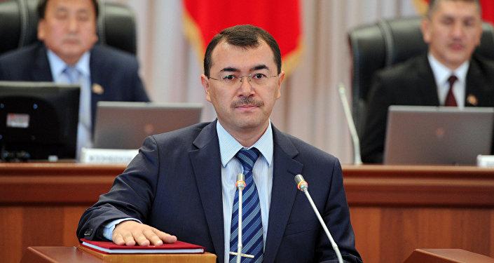 Спикер парламента Киргизии объявил обуходе вотставку