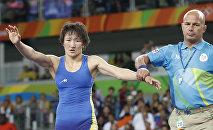 Трехкратный чемпион Азии Айсулуу Тыныбекова. Архивное фото