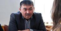 Директор муниципального предприятия Тазалык Сарпашев Рыспек Анакович