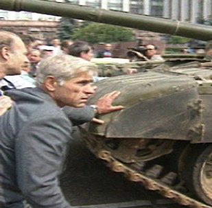 Реакция не пройдет!. Москва, август 1991 года