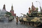 Танки на Красной площади 19 августа 1991года. Архивное фото