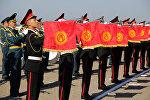Военнослужащие во время парада. Архивное фото