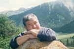 Известный журналист КТРК, ведущий авторской передачи Тагдыр Болот Макетаев. Архивное фото
