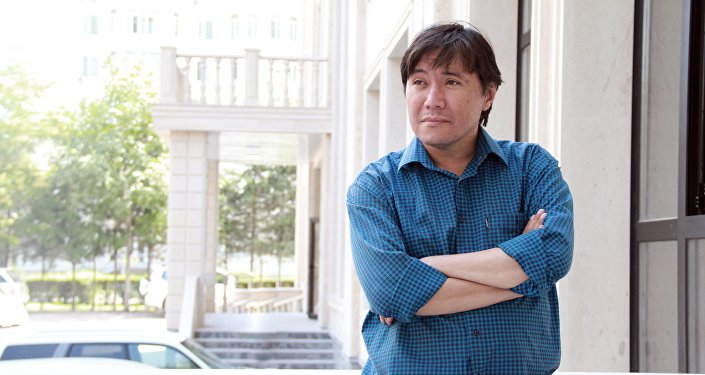 Архивное фото актера Азиза Мурадиллаева