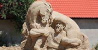 Ысык-Көлдү алтын куму-2016 деп аталган кум эстеликтеринин фестивалы. Архив