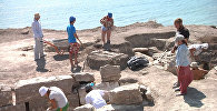"""Археологи нашли древнюю """"радионяню"""" при раскопках некрополя Кыз-Аул в Крыму"""