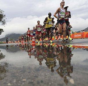 Олимпиада 2016. Марафон. Мужчины. 42 километр
