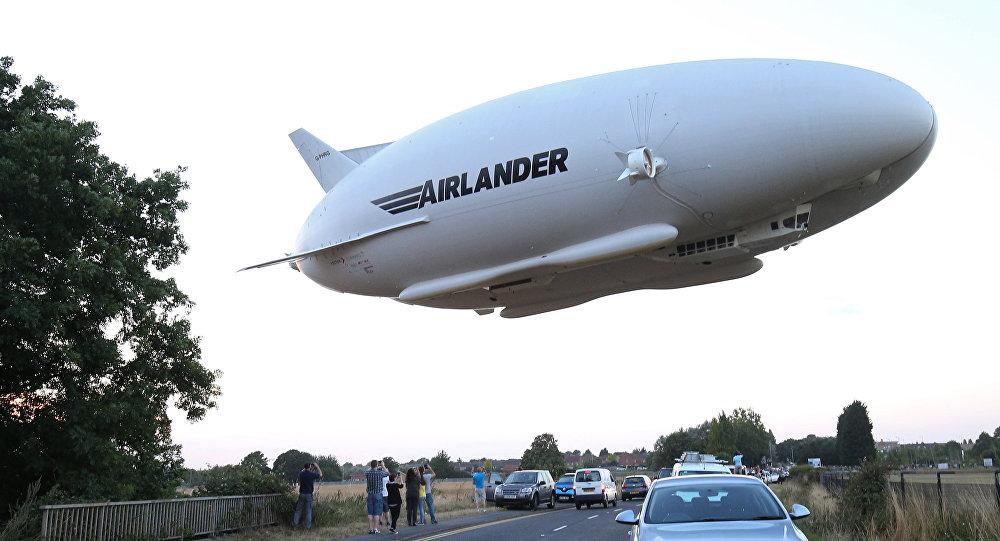 Огромный самолёт-дирижабль Airlander 10 потерпел трагедию новость