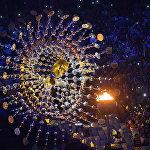 XXXI жайкы Олимпиада оюндарынын жабылуу салтанатындагы Олимпиадалык от