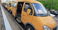 Маршруттук такси. Архив