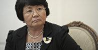 Архивное фото экс-президента КР Розы Отунбаевой
